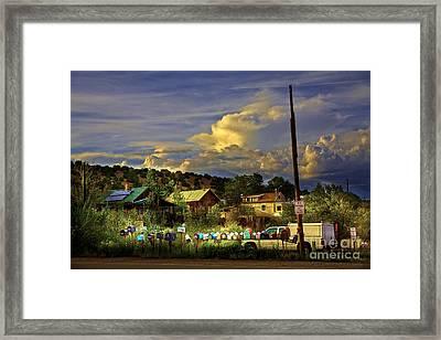No Parking Anytime I Framed Print by Madeline Ellis