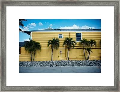 No Parking Framed Print by Tony Boyajian