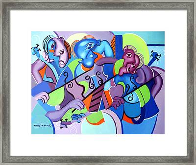 No Strings Attached Framed Print by Anthony Falbo