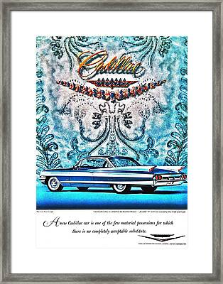 No Substitute Framed Print by Benjamin Yeager
