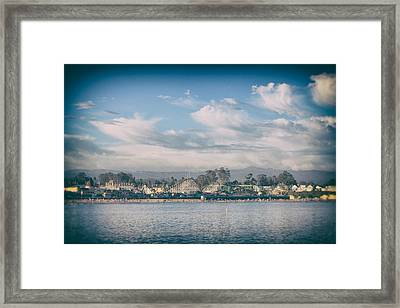 No Summertime Blues Framed Print by Laurie Search