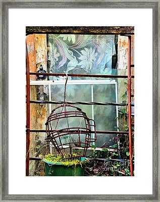 No Telling Framed Print by Newel Hunter