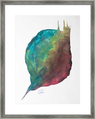 No Title Framed Print by Ewa Pacia