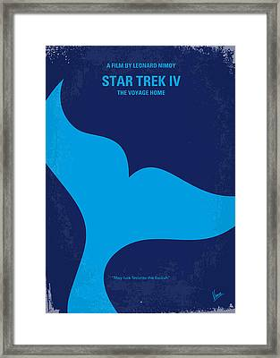 No084 My Star Trek 4 Minimal Movie Poster Framed Print by Chungkong Art
