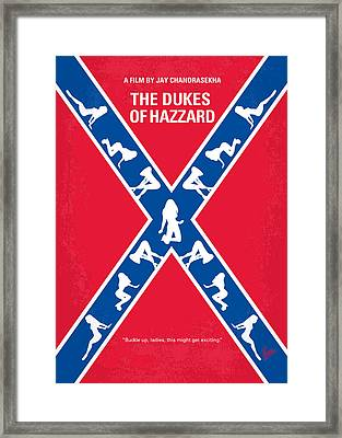 No108 My The Dukes Of Hazzard Movie Poster Framed Print by Chungkong Art
