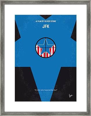No111 My Jfk Movie Poster Framed Print by Chungkong Art