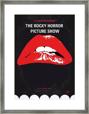 No153 My The Rocky Horror Picture Show Minimal Movie Poster Framed Print by Chungkong Art