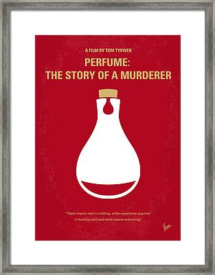 No194 My Perfume The Story Of A Murderer Minimal Movie Poster Framed Print by Chungkong Art
