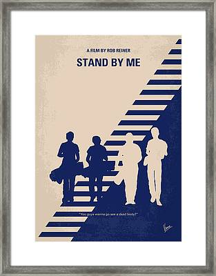 No429 My Stand By Me Minimal Movie Poster Framed Print by Chungkong Art