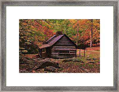 Noah Ogle Place In The Smoky Mountains Framed Print by Dan Sproul