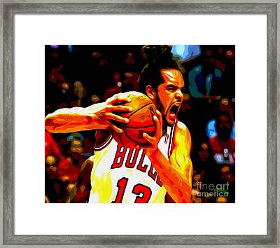 Noah Framed Print by Oscar Lester