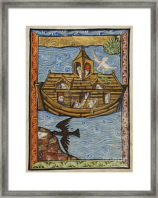 Noahs Ark, 1190 Framed Print by Getty Research Institute