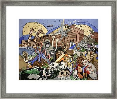 Noahs Ark Framed Print by Anthony Falbo