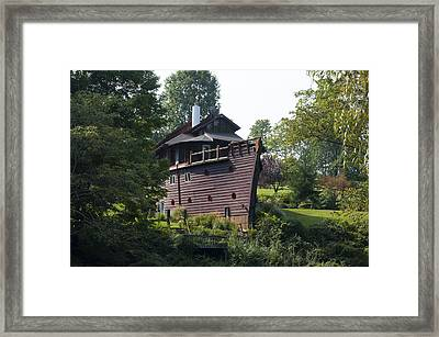Noah's Ark - Berks County Pa. Framed Print by Bill Cannon