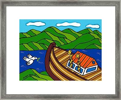 Noah's Ark Framed Print by Mike Segal