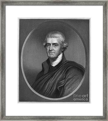 Noble Wimberley Jones Framed Print by Granger