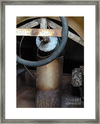 Nobody At The Controls Framed Print by Newel Hunter