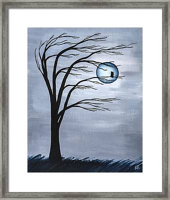 Nocturnal Framed Print by Melissa Smith
