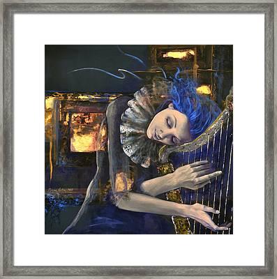 Nocturne Framed Print by Dorina  Costras
