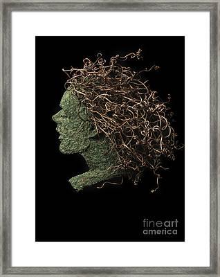 Noein Framed Print by Adam Long