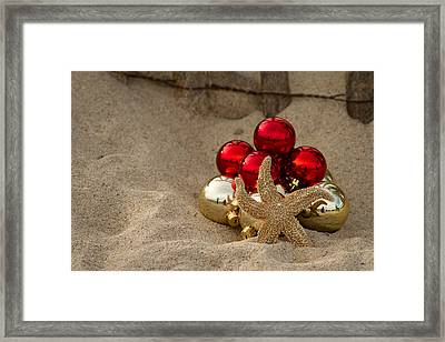 Noel On The Dunes Framed Print by Brian Caldwell