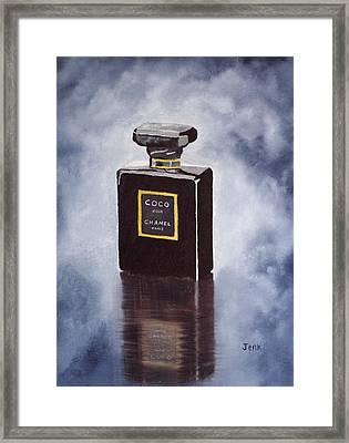 Noir Framed Print by Rebecca Jenkins