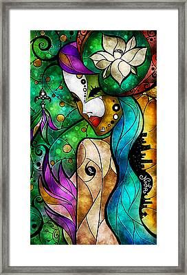 Nola Framed Print by Mandie Manzano