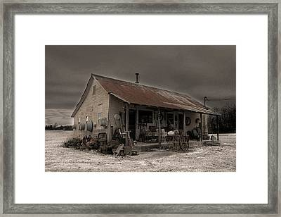 Noland Country Store Framed Print by William Fields