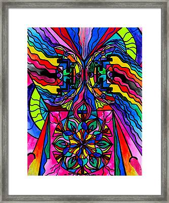 Non Attachment Framed Print by Teal Eye  Print Store