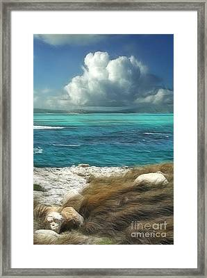 Nonsuch Bay Antigua Framed Print by John Edwards