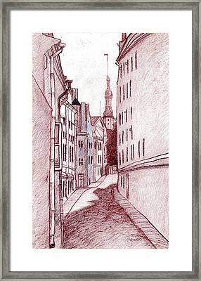 Noon Framed Print by Serge Yudin