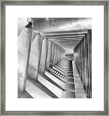Noon Time Shadows Framed Print by David Bearden