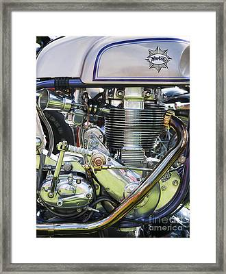 Norbsa Engine Framed Print by Tim Gainey