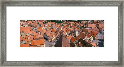 Nordlingen Germany Framed Print by Panoramic Images