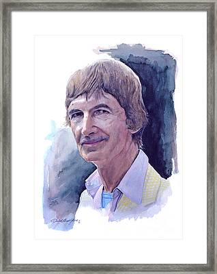 Norman Mclaren Framed Print by David Lloyd Glover