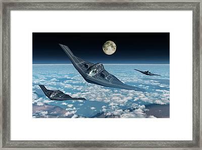 North American B-2 Spirit Stealth Framed Print by Mark Stevenson