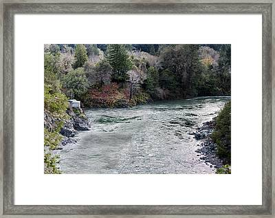 North And Middle Fork Of Smith River 2 Framed Print by Betty Depee