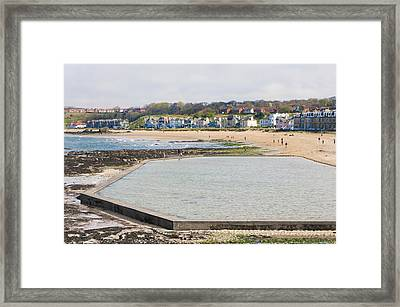 North Berwick Lido Framed Print by Tom Gowanlock