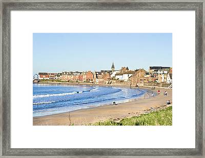North Berwick Framed Print by Tom Gowanlock