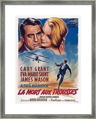 North By Northwest, Aka La Mort Aux Framed Print by Everett
