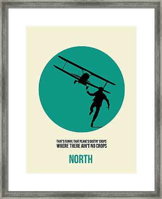 North By Northwest Poster 1 Framed Print by Naxart Studio