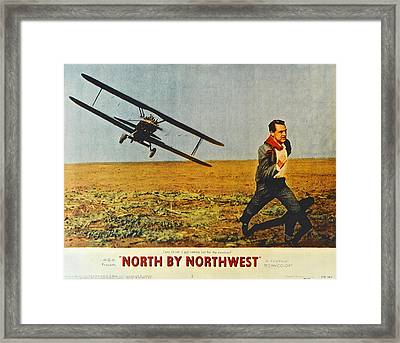 North By Northwest Framed Print by Frozen in Time Fine Art Photography