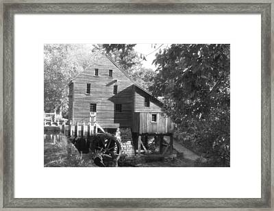 North Carolina Watermill Framed Print by Dwight Cook
