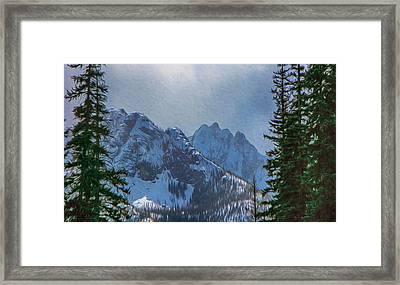 North Cascades Inspiration Framed Print by Omaste Witkowski
