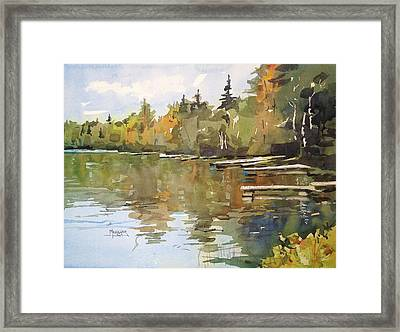North Country Reflections Framed Print by Spencer Meagher
