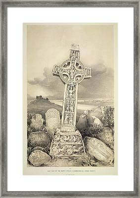 North Cross Framed Print by British Library