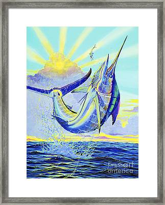 North Drop Off00132 Framed Print by Carey Chen