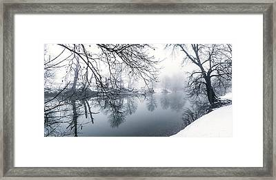 North Fork Framed Print by David Lester