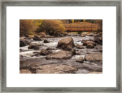 North Inlet And Grand Avenue Bridge Framed Print by Lee Kirchhevel