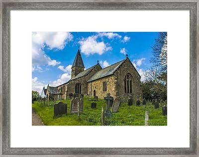 North Otterington Church Framed Print by Trevor Kersley